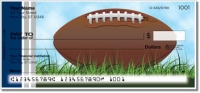 Click on Blue & Silver Football Fan Checks For More Details
