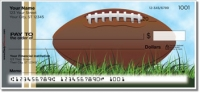Click on Black & Gold Football Fan Personal Checks For More Details