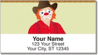 Click on Rodeo Clown Address Labels For More Details