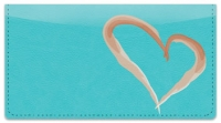 Click on Painted Heart Checkbook Cover For More Details