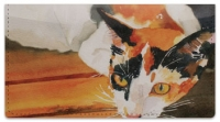 Click on Calico Cat Checkbook Cover For More Details
