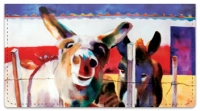 Click on Kay Smith Donkey Checkbook Cover For More Details