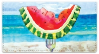 Click on Kay Smith Fruit Checkbook Cover For More Details