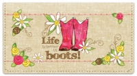 Click on Cowgirl Happy Checkbook Cover For More Details