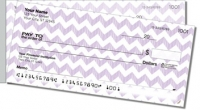 Sassy Chevron Side Tear Personal Checks