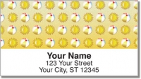 Click on Beach Pattern Address Labels For More Details