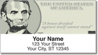 Click on Abraham Lincoln Address Labels For More Details