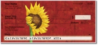 Click on Sunflower Delight Personal Checks For More Details