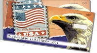 Click on Flag Stamp Side Tear For More Details