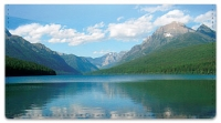 Click on Mountain Water Checkbook Cover For More Details