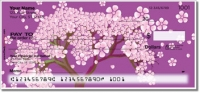 Click on Cherry Blossom Personal Checks For More Details