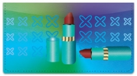 Click on Lipstick Checkbook Cover For More Details