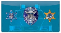 Click on Law Enforcement Checkbook Cover For More Details