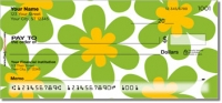 Click on Retro Flower Personal Checks For More Details