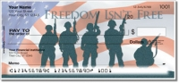Click on Price of Freedom Personal Checks For More Details