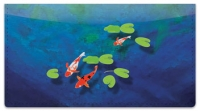 Click on Koi Fish Checkbook Cover For More Details