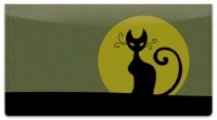 Click on Kitty Noir Checkbook Cover For More Details
