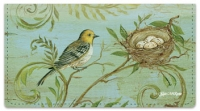 Click on Nature's Nest Checkbook Cover For More Details