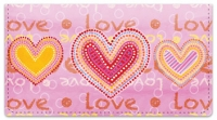 Click on Love Love Checkbook Cover For More Details