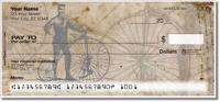 Click on Vintage Bicycle Personal Checks For More Details