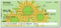 Click on Retro Sunflower Personal Checks For More Details