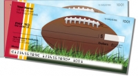 Click on Red & Gold Football Fan Side Tear Personal Checks For More Details