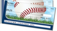 Click on Silver & Blue Baseball Fan Side Tear Personal Checks For More Details