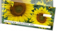 Click on Sunflower Bloom Side Tear Personal Checks For More Details