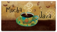 Click on Zipkin Coffee Checkbook Cover For More Details