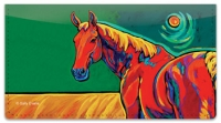 Click on Evans Horse Checkbook Cover For More Details