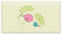 Click on Bird Garden Checkbook Cover For More Details