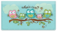 Click on Whoo's Cute Checkbook Cover For More Details