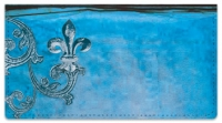 Click on Iron Fleur de Lis Checkbook Cover For More Details