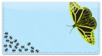 Click on Insect Illustration Checkbook Cover For More Details