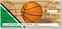 Click on Green & Black Basketball Personal Checks For More Details