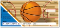 Click on Blue & Orange Basketball Personal Checks For More Details