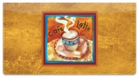 Click on Artsy Coffee Checkbook Cover For More Details