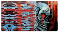 Click on Cool Skull Checkbook Cover For More Details