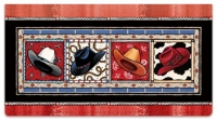 Click on Western Hats Checkbook Cover For More Details