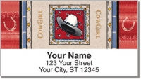 Click on Western Hats Address Labels For More Details