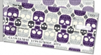 Click on Damask Skull Side Tear Personal Checks For More Details