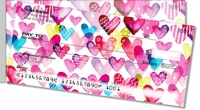 Click on I Heart You Side Tear Personal Checks For More Details