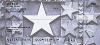 Click on Rustic Metal Stars Personal Checks For More Details