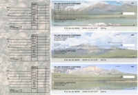 Click on Scenic Mountains Accounts Payable Designer Business Checks For More Details