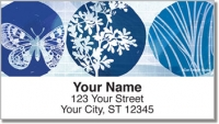 Click on Blue Butterfly Nightfall Address Labels For More Details
