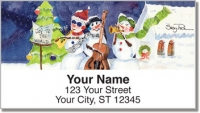 Click on Snow Musician Address Labels For More Details