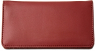 Click on Burgundy Smooth Leather Cover For More Details