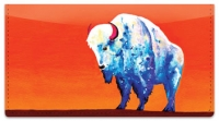 Click on Bison Checkbook Cover For More Details