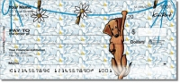 Click on Dachshund Series Personal Checks For More Details