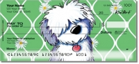 Click on Old English Sheepdog Personal Checks For More Details